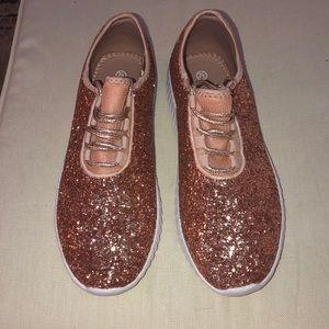Glitter Tennis Shoes 💗